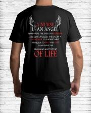 Nurse Angle Classic T-Shirt lifestyle-mens-crewneck-back-1