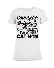 Counselor - Stay at Home Cat Mom Premium Fit Ladies Tee thumbnail
