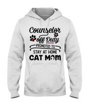 Counselor - Stay at Home Cat Mom Hooded Sweatshirt thumbnail