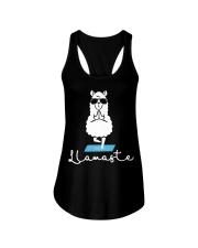 Llamaste - Yoga Ladies Flowy Tank tile