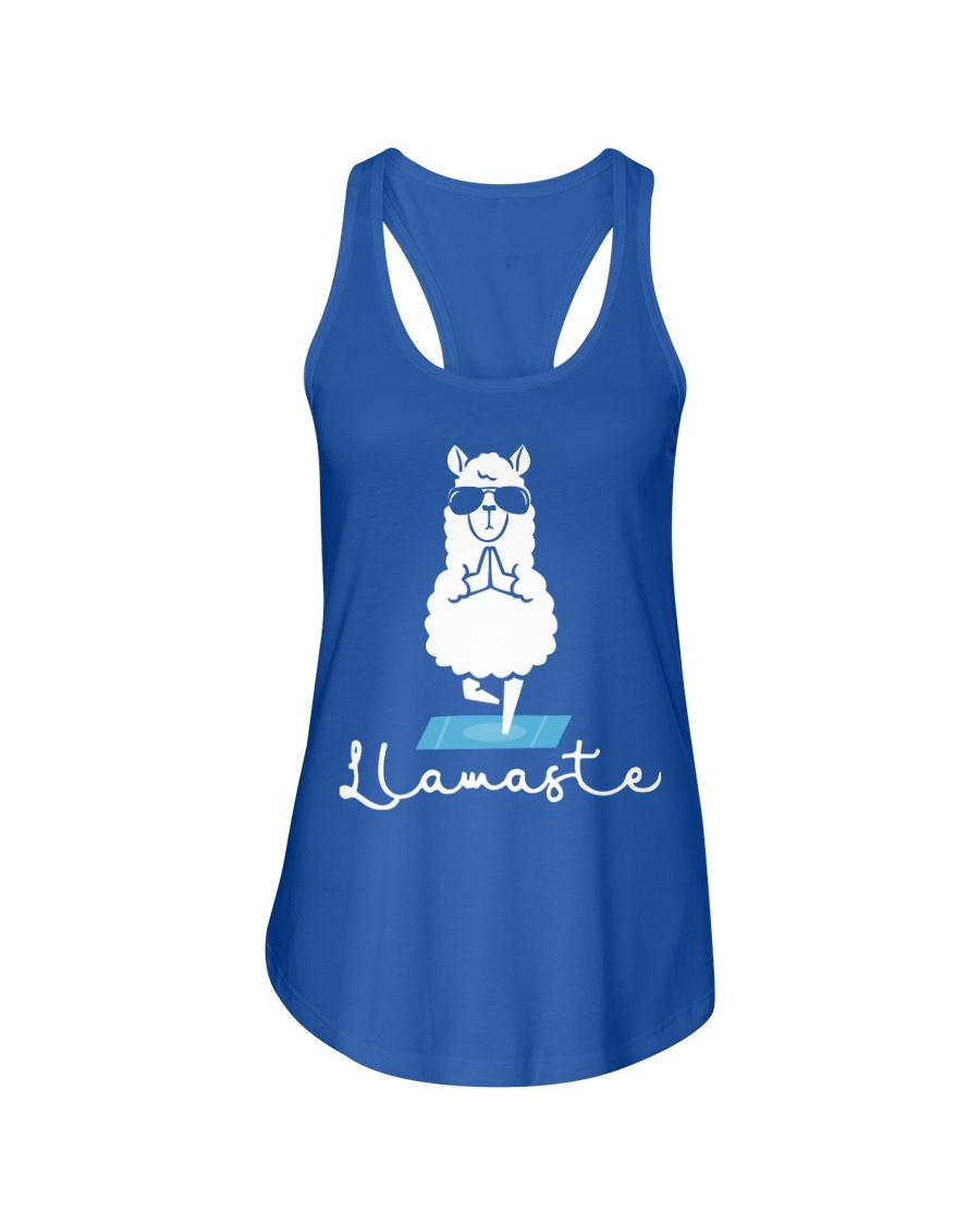Llamaste - Yoga Ladies Flowy Tank