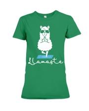 Llamaste - Yoga Premium Fit Ladies Tee thumbnail