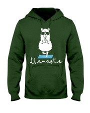 Llamaste - Yoga Hooded Sweatshirt thumbnail