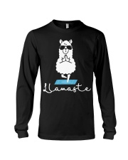 Llamaste - Yoga Long Sleeve Tee thumbnail
