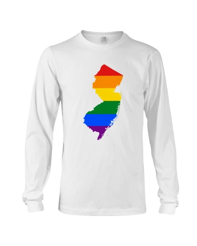 LGBT Pride - New Jersey Map