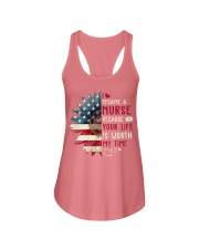 Nurse - July Ladies Flowy Tank tile
