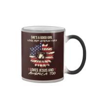 Veteran Daughter - Love Color Changing Mug thumbnail