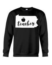 Pennsylvania Teacher - Map Crewneck Sweatshirt thumbnail