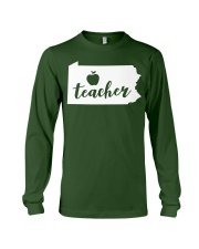 Pennsylvania Teacher - Map Long Sleeve Tee thumbnail