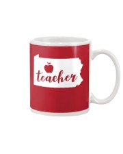 Pennsylvania Teacher - Map Mug thumbnail