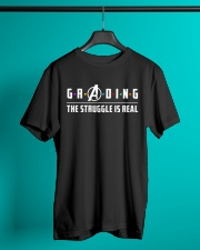 Teacher - Grading - The Struggle is Real Classic T-Shirt lifestyle-mens-crewneck-front-3