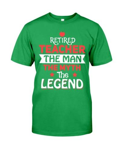 Retired Teacher - The Man - The Legend