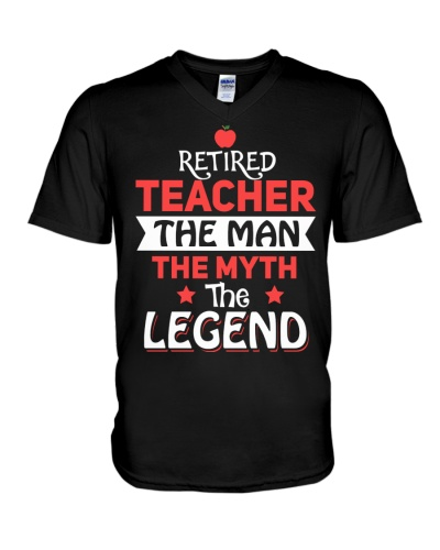 Retired Teacher - The Man - The Legend