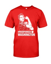 RED for ED - Teacher Strong Washington  Classic T-Shirt front