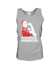 RED for ED - Teacher Strong Washington  Unisex Tank thumbnail