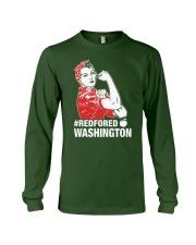 RED for ED - Teacher Strong Washington  Long Sleeve Tee thumbnail