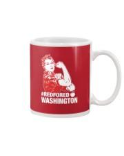 RED for ED - Teacher Strong Washington  Mug thumbnail