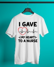 I Gave My Heart to a Nurse Classic T-Shirt lifestyle-mens-crewneck-front-3