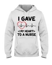 I Gave My Heart to a Nurse Hooded Sweatshirt thumbnail