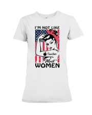 Teacher - I'm not most like Women Premium Fit Ladies Tee thumbnail