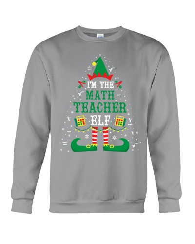 Math Teacher - I'm the Math Teacher ELF