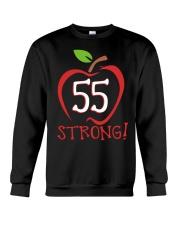 Teacher - 55 Strong Crewneck Sweatshirt thumbnail