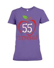 Teacher - 55 Strong Premium Fit Ladies Tee thumbnail