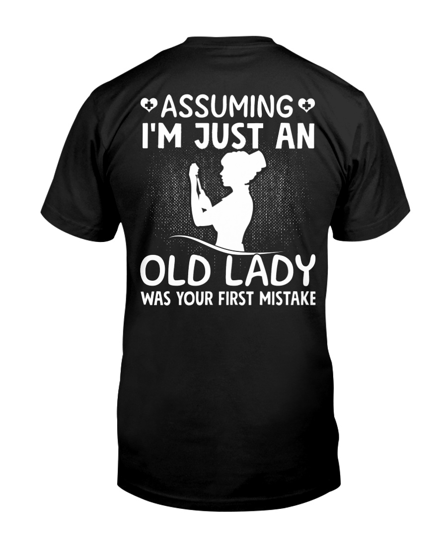 Nurse - Just an old Lady Classic T-Shirt