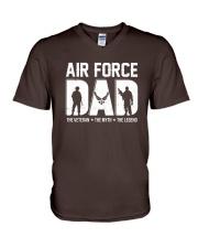 Air Force - Dad V-Neck T-Shirt thumbnail