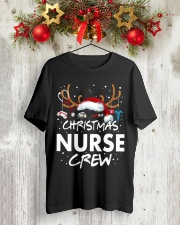 Christmas Nurse Crew Classic T-Shirt lifestyle-holiday-crewneck-front-2