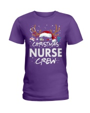 Christmas Nurse Crew Ladies T-Shirt thumbnail