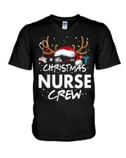 Christmas Nurse Crew V-Neck T-Shirt thumbnail