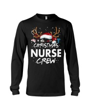 Christmas Nurse Crew Long Sleeve Tee thumbnail