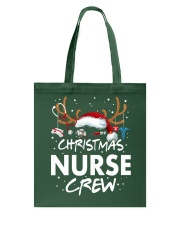 Christmas Nurse Crew Tote Bag thumbnail