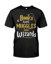 Teacher - Books Wizards Classic T-Shirt front