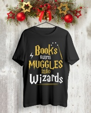 Teacher - Books Wizards Classic T-Shirt lifestyle-holiday-crewneck-front-2