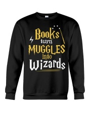 Teacher - Books Wizards Crewneck Sweatshirt thumbnail