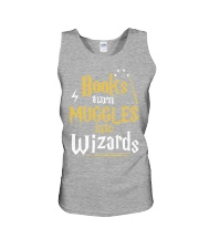 Teacher - Books Wizards Unisex Tank tile