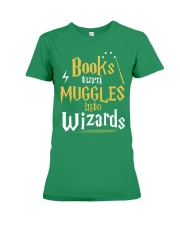 Teacher - Books Wizards Premium Fit Ladies Tee thumbnail