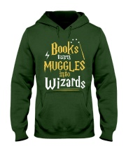 Teacher - Books Wizards Hooded Sweatshirt tile