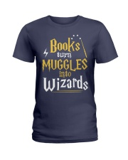 Teacher - Books Wizards Ladies T-Shirt tile