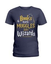 Teacher - Books Wizards Ladies T-Shirt thumbnail