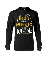 Teacher - Books Wizards Long Sleeve Tee tile