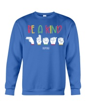 Special ED Teacher - Be a kind human Crewneck Sweatshirt thumbnail