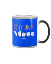 Special ED Teacher - Be a kind human Color Changing Mug thumbnail