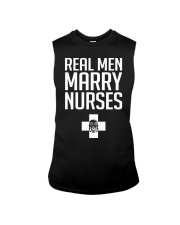 Real Men Marry Nurses - Biker Sleeveless Tee thumbnail