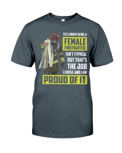 Female Firefighter - Proud of it