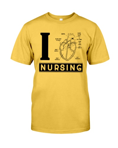 I Love Nursing White