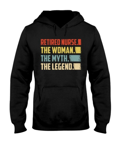 Retired Nurse Woman Legend