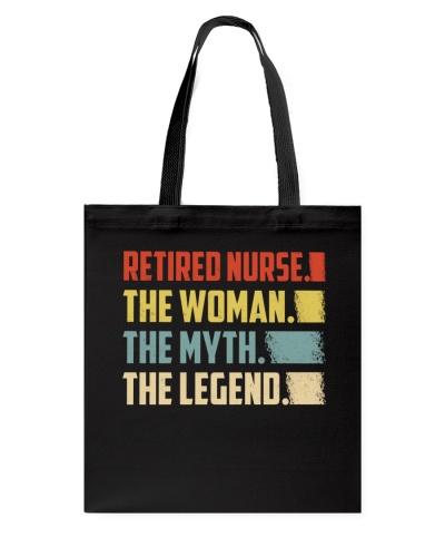 Retired Nurse Woman Legend